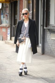 Olivia Kim (VP of Creative at Opening Ceremony) looking chic