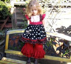 Dress/Top - Francine Flutter Sleeve by FooFoo Threads size 12mo-6