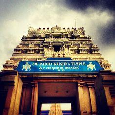 ISKON Temple - Bangalore, India