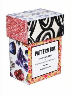 Pattern Box: 100 Postcards by Ten Contemporary Pattern Designers, $17