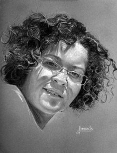 Pencil Portrait Mastery - Besada (apellido) - Discover The Secrets Of Drawing Realistic Pencil Portraits Portrait Sketches, Pencil Portrait, Portrait Art, Drawing Sketches, Charcoal Portraits, Pastel Portraits, Charcoal Art, Charcoal Drawing, Figure Sketching