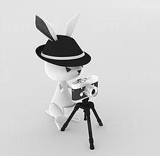 hannah Photographer Rakang, 3D model, Art toy