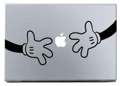 hand by hand macbook decal macbook stickers ipad by magnistyle, $6.35