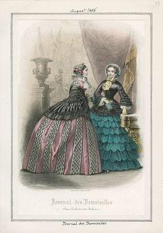 Journal des Demoiselles August 1855 LAPL