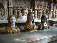 Reliquaries for the Skulls of Female Saints