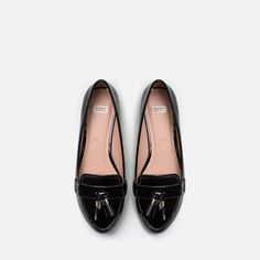 Image 4 of LOAFERS WITH TASSELS from Zara