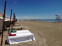 Lido di Venezia, spiaggia dell'Excelsior