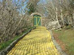 Land of Oz theme park at Emerald Mountain Properties and Vacation Rentals at Land of Oz... apparently this is a thing in NC