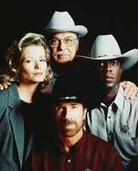 Cast of Walker Texas Ranger.