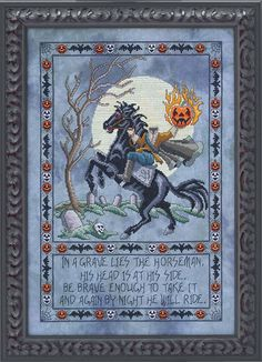 Sleepy Hollow Counted Cross Stitch Kit
