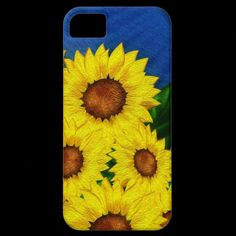 Sunflower Floral Case-Mate iPhone 5 iPhone 5 Cover