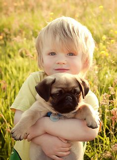 """Happiness is a warm puppy."" ― Charles M. Schulz [pinned by PartyTalent.com]"