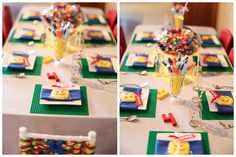 LEGO PARTY TABLE- Cute Birthday Party Theme for Boys
