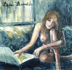 @alecoscino #DonneInArte #DonneDiNotte Dam Domido - Nuit Blanche