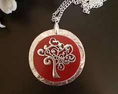 Check out our tree of life selection for the very best in unique or custom, handmade pieces from our pendants shops. Tree Necklace, Tree Of Life, Pendants, Personalized Items, Handmade, Etsy, Jewelry, Hand Made, Jewlery