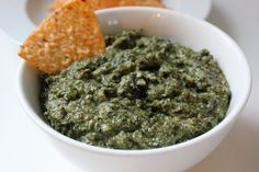 Creamy Kale Dip -- better than a creamy spinach and artichoke dip! Yum's Up!