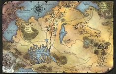 Here's the Map I drew for my up and coming book...'The Descent of the King' release 2015