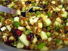 Curry Wheatberry salad