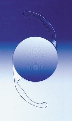 Intraocular lens implant for cataract surgery