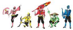 Samurai Rangers Advanced by BadDogg