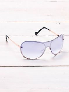 Jessica Simpson Signature Shield Sunglasses
