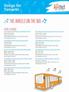 Part of our Songs for Tamariki series - children love to sing, it helps them play! Travelling on a bus is always a great fun thing for children to do, and now they can discover who is on the bus and the sounds to go with them...