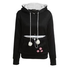 Pullover Hoodie With Ears  #Ilovebullydogs