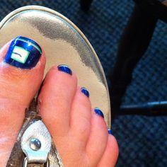 I had this done at Princess Nails Hockey Nails, Vancouver Canucks, Hockey Teams, Mani Pedi, Nail Designs, Rings For Men, Princess, Fashion, Moda