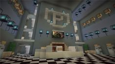 minecraft police station - Google Search