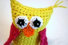 cute little Crocheted Owl