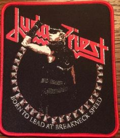 Judas Priest - Born To Lead At Breakneck Speed patch.