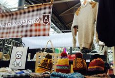 Highlands & Lowlands sent us this snap of their stall at Spitalfields market. Looks good, happy selling!