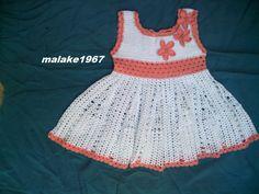 robe fille crochet