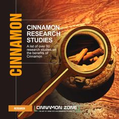 A collection of over 50 cinnamon research studies