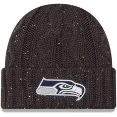 b8a8b3a805d Seattle Seahawks New Era Women s Cozy Team Cuffed Knit Hat - Gray Graphite