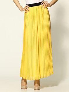 Hive & Honey Pleat Maxi Skirt