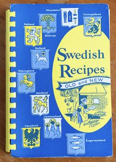 Your place to buy and sell all things handmade 1970s Kitchen, Swedish Recipes, New Cookbooks, Current Events, Old And New, I Shop, Make It Yourself, Prints, Etsy