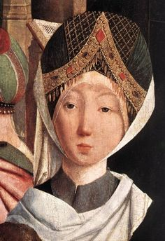 Geertgen Tot Sint-Jans - The Holy Kinship (detail)