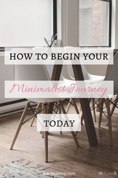 Begin your minimalist journey today by getting clear on your purpose in life and decluttering anything that doesn't fit within that purpose or is holding you back. With a clear purpose at the forefront of your mind, you CAN live a more minimal life that you actually love! Find out how...