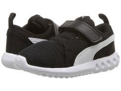 8c781d77d43 Puma Kids Carson 2 V (Toddler) Boys Shoes Puma Black Puma White Toddler