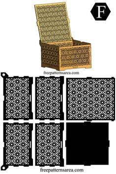 Wooden Laser Cut Box Design Free Dxf Cutting Files