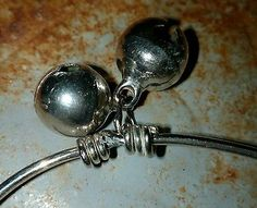 Sterling Silver Bracelet / Rattle.