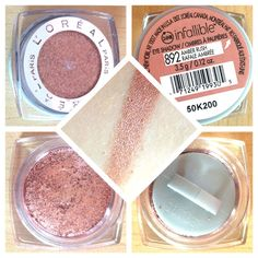 L'Oreal Infallible Eyeshadow in Amber Rush Review