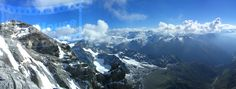 Titlis located at Urner Alps, Switzerland Alps Switzerland, Panoramic Images, Mount Everest, Mountains, Places, Nature, Travel, Beautiful, Swiss Alps