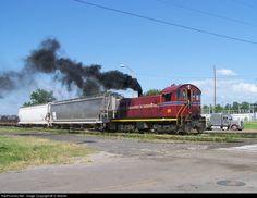 RailPictures.Net Photo: AM 16 Arkansas & Missouri Railroad T6 at Fort Smith, Arkansas by TJ Mahan