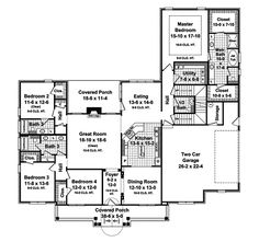 Comanche Country Home Plan 077D-0176 | House Plans and More