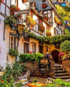 """Get lost in one of Germany's fairy tale towns, the """"Sleeping Beauty"""" along the Moselle River - Beilstein, Rheinland-Pfalz, Germany Beautiful Places To Visit, Beautiful World, Cool Places To Visit, Places To Travel, Places To Go, Beautiful Buildings, Beautiful Landscapes, Travel Abroad, Travel And Leisure"""