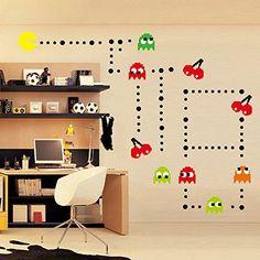ufengke® Cartoon Pac-Man Games Wall Decals, Children's Ro... https://www.amazon.com/dp/B01GOP502C/ref=cm_sw_r_pi_dp_x_tMHeybFXD3CWP