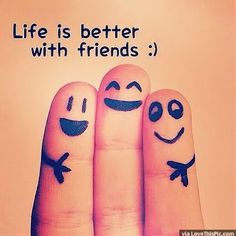 Life Is Better With Friends life quotes quotes quote friends life best friends bff friendship quotes cute quotes true friends