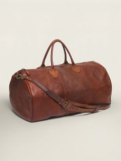 Rockport Leather Duffel